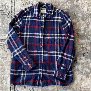 Flannel Plaid Button Up